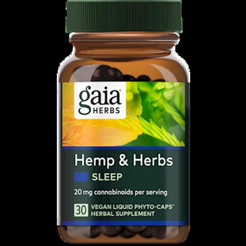 Gaia Hemp & Herbs Sleep 30 caps