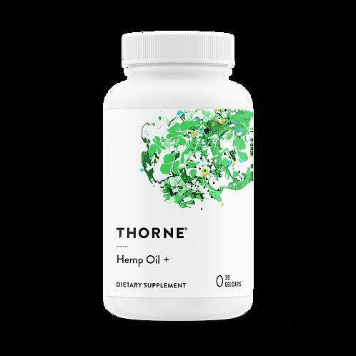 Thorne Hemp Oil +
