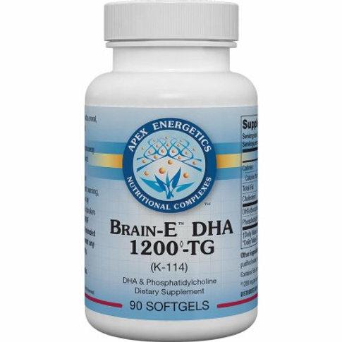 Brain-E DHA™ 1200TG K114 by Apex Energetics