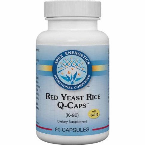 Red Yeast Rice Q-Caps™ K96 by Apex Energetics