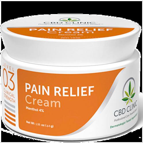 CBD Clinic Level 3 Pain Relief Cream 1.55 oz