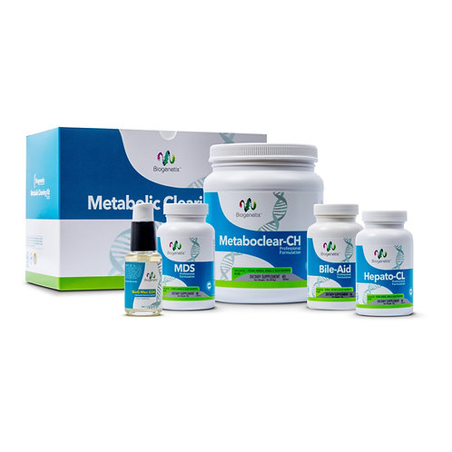 BioGenetix Metabolic Clearing Kit (Basic) Vanilla
