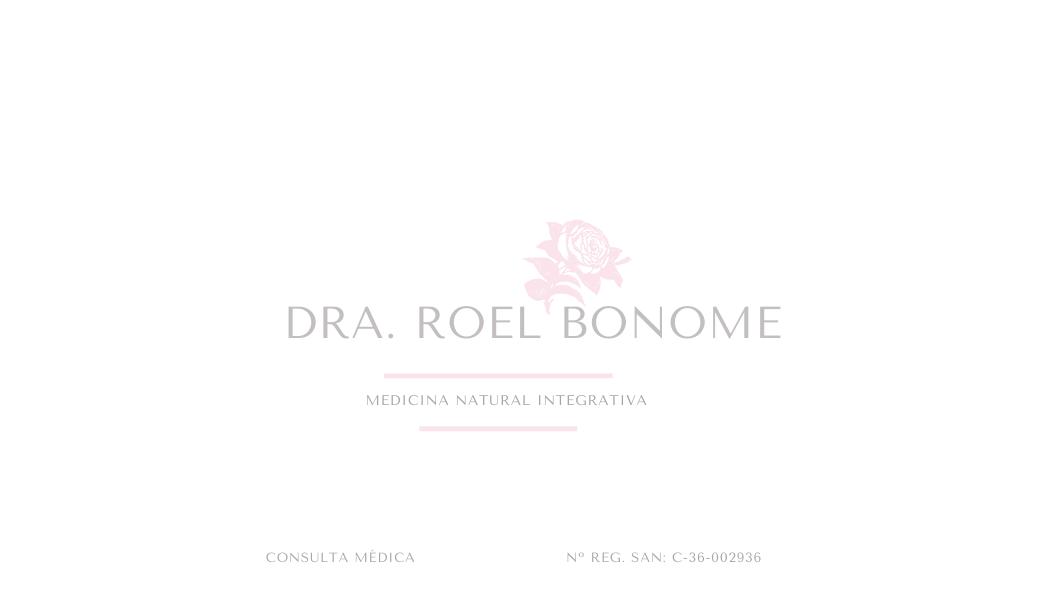 CONSULTA MÉDICA con la Dra. Roel