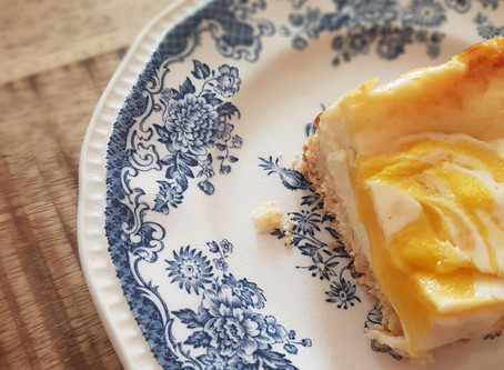 Recept voor mango cheesecake bars