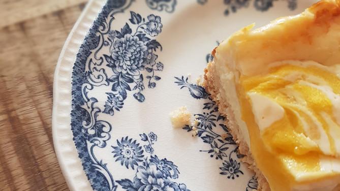 Recept voor mango cheesecake bars