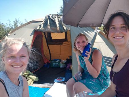 Een lang weekend kamperen met vriendinnen in Ommen