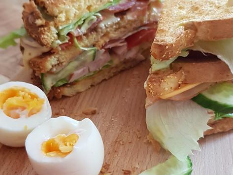 Recept voor een spicy club sandwich