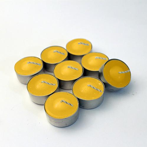 Vela Lamparina / Rechaud P com vaso - 1,5 cm - Citronela