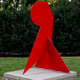Resting, painted steel