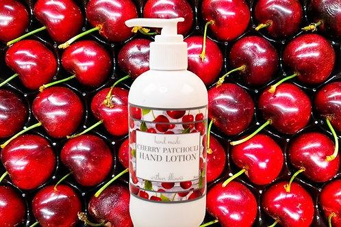 Cherry Patchouli Lotion 8 oz