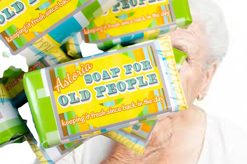 Soap for Old People Bar