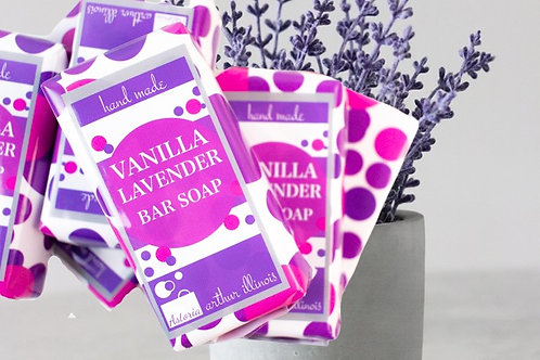 Vanilla Lavender Bar Soap
