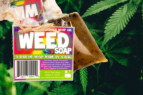 Weed Soap