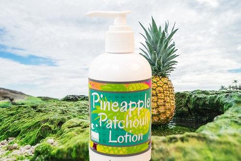 Pineapple Patchouli Lotion 2 oz