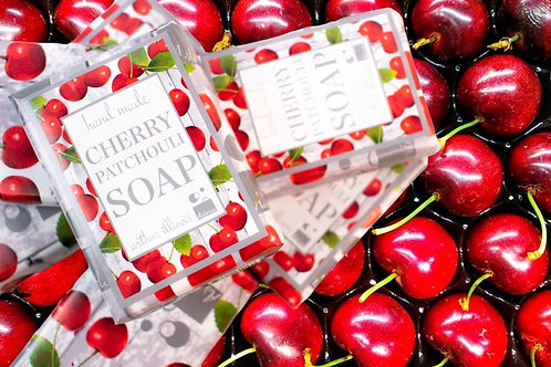 Cherry Patchouli Bar Soap