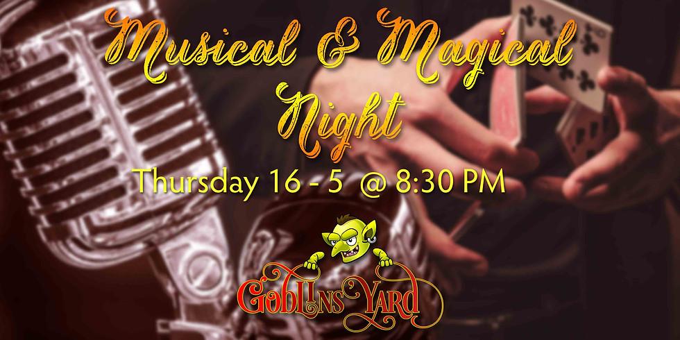 Musical & Magical night