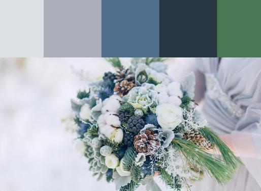 Farbkonzepte für deine Winterhochzeit