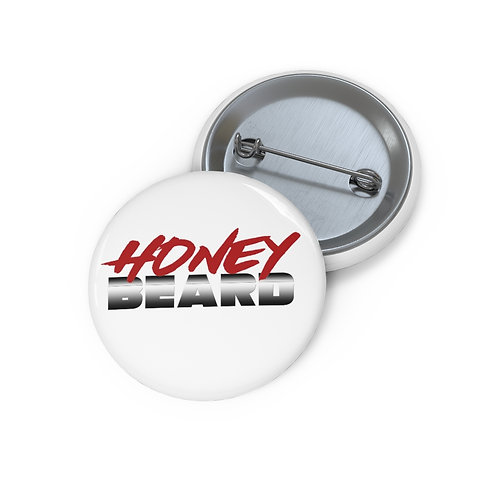 Honey Beard Custom Pin Buttons