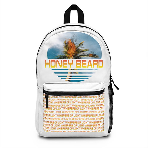 Honey Beard - Palm Tree on Fire Backpack