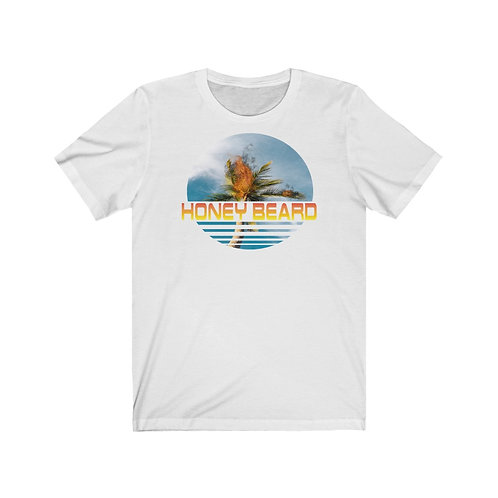 Palm Tree Fire - Unisex Jersey Short Sleeve Tee