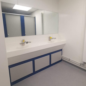 Toilet Refurb for Healthcare Client