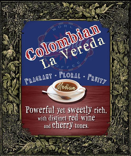 Columbian La Vereda - MEDIUM ROAST