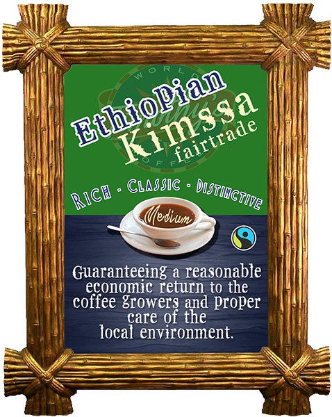 Ethiopian Kimssa - MEDIUM ROAST