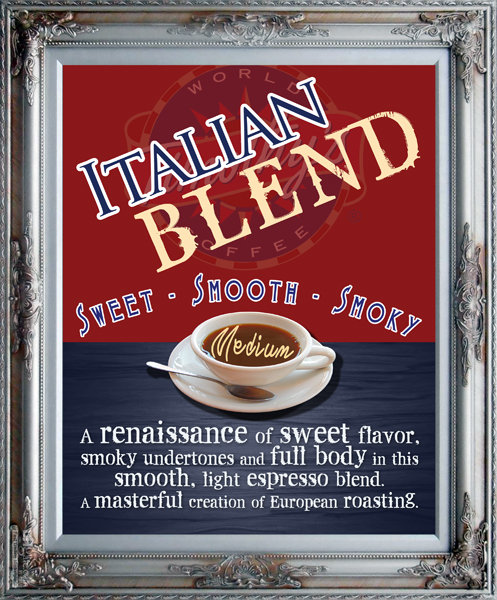 Italian Blend - MEDIUM / DARK ROAST