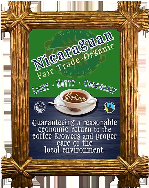 Nicaraguan Fairtrade-Organic - MEDIUM ROAST