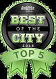 Albuquerque Best of the City Winner - 2016