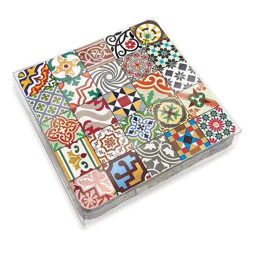 Set de 6 Coasters Azulejos