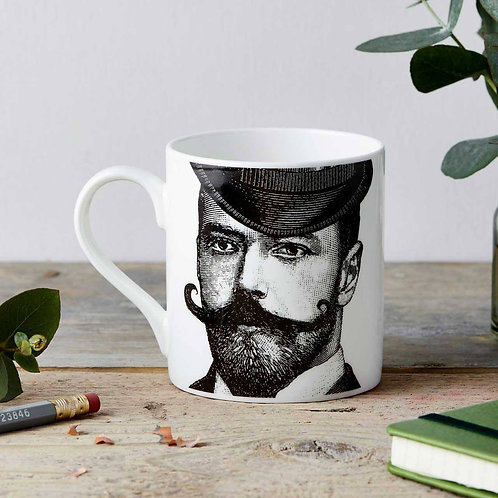Dashing Gentleman Fine China Mug