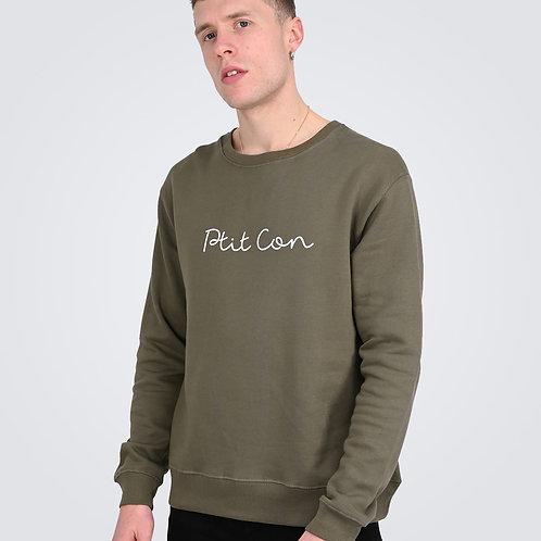 Sweat Shirt Signature  Kaki - Ptit Con