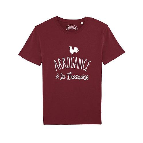 """T-Shirt """"Arrogance à la Française"""" - Le Fabuleux Shaman"""