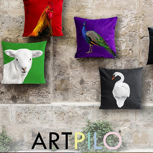 Coussins en velours LifeStyle Series Edition - ARTPILO