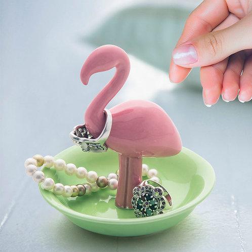 Porte-Bagues Flamingo
