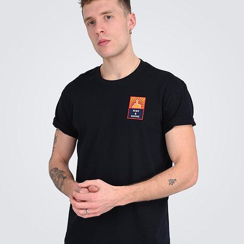 """T-Shirt Écusson """"Rise & Shine - Ptit Con"""