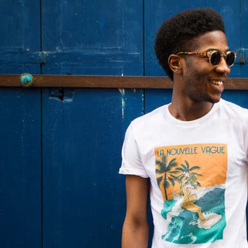 """T-Shirt """"L'Âmer supérieur"""" - La Nouvelle Vague"""