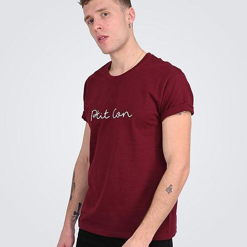 T-Shirt Signature  Bordeau - Ptit Con