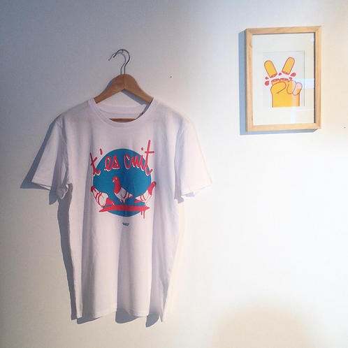 """T-Shirt """"T'es cuit"""" - Tinougraphie"""