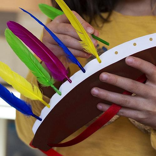 Kit créatif DIY - Sur les traces des Sioux