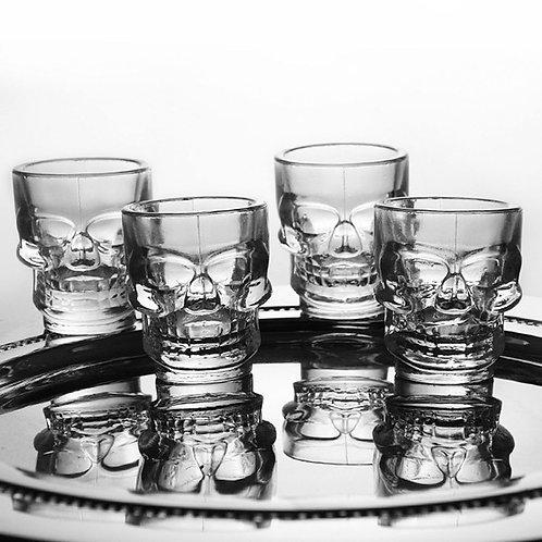 Verres à Liqueur - Skull Shot Glasses
