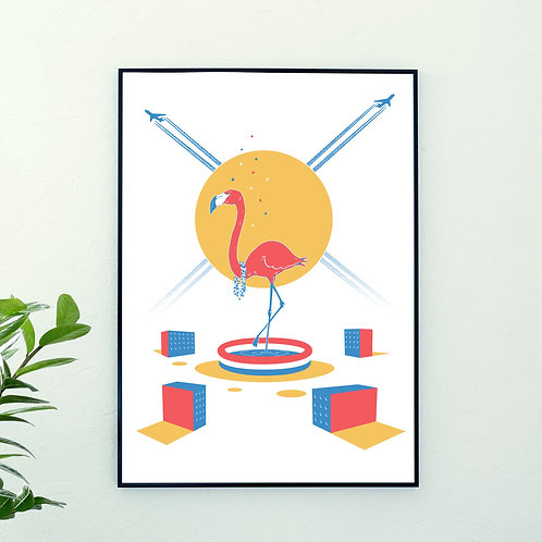 Tinougraphie - Flamingo Low Cost
