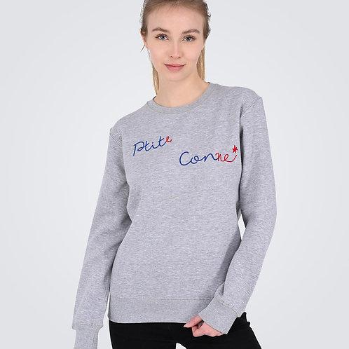 Sweat Shirt Signature Gris Ptit(e) Con(ne) - Ptit Con