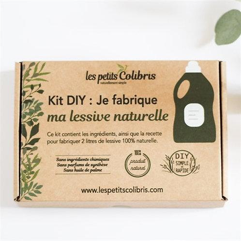 Kit DIY - Je fabrique ma lessive naturelle
