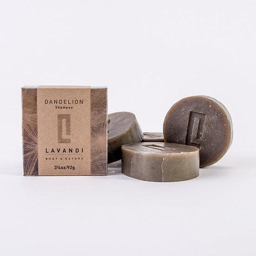 Shampooing solide DANDELION - Lavandi Body & Nature