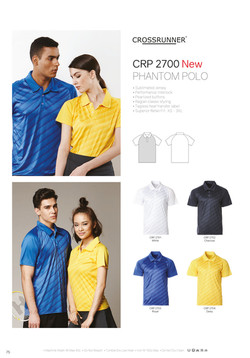 CRP2700 DRI FIT POLO T-SHIRT