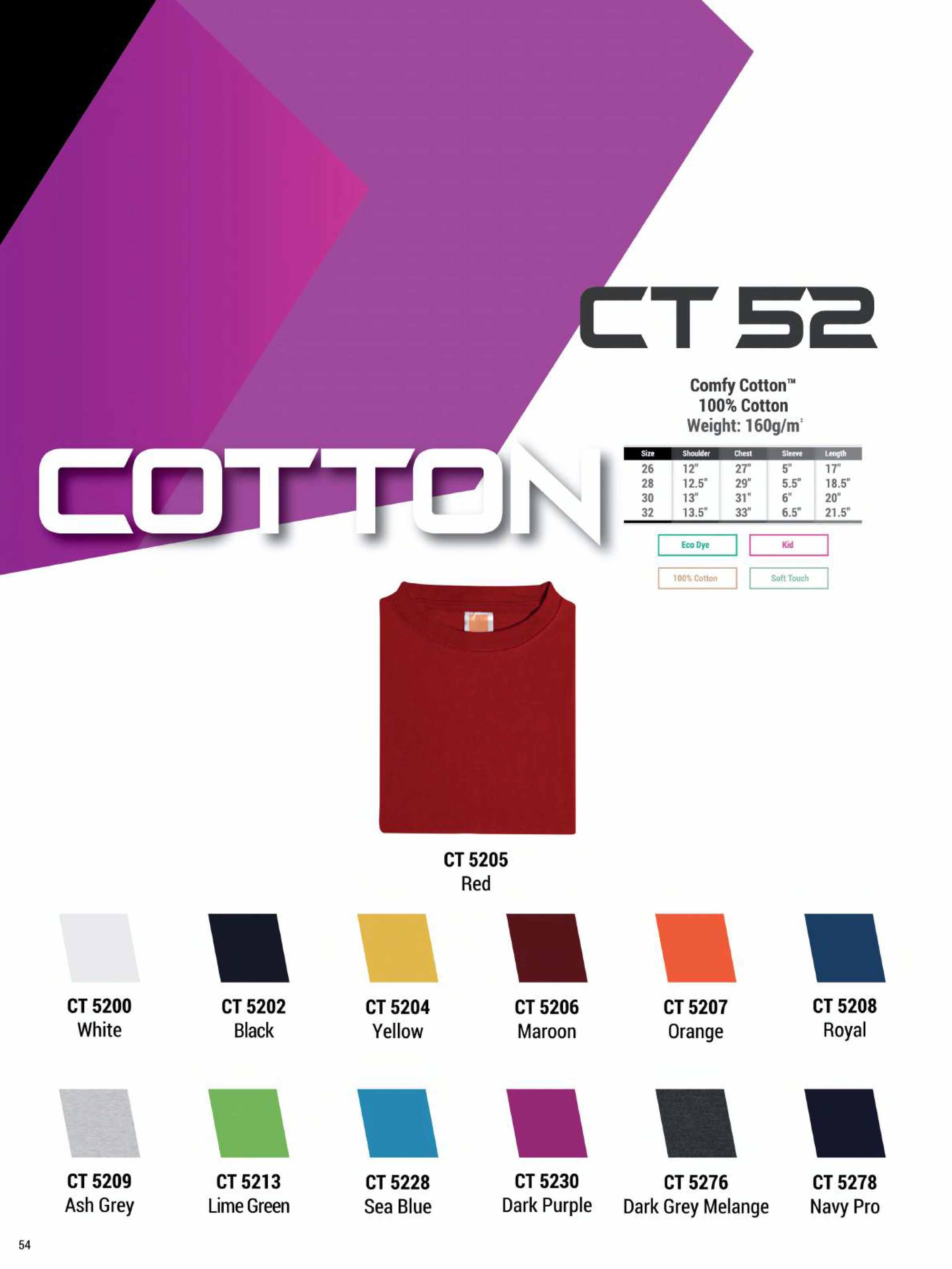 CT52 COTTON T-SHIRT