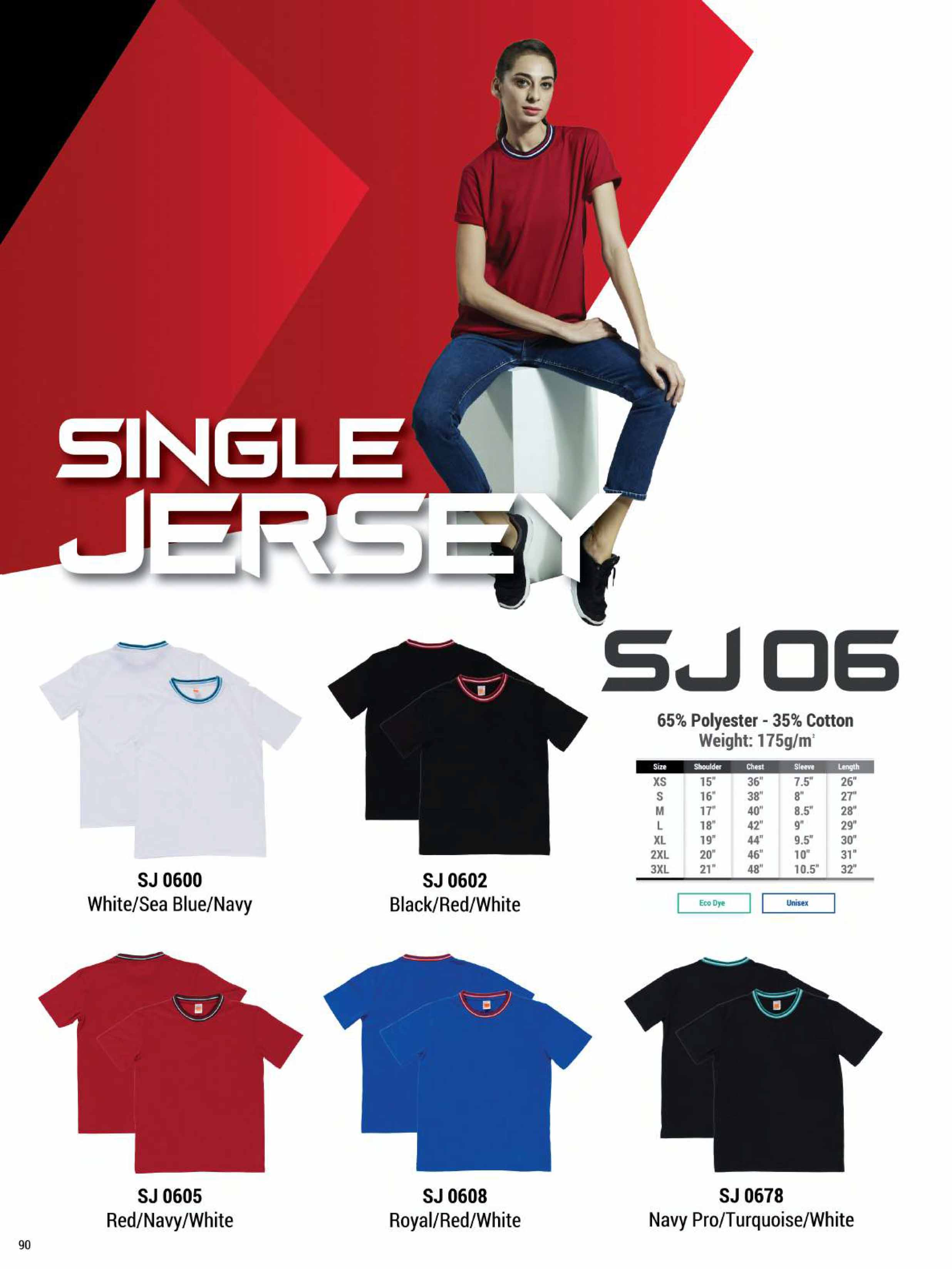 SJ06 COTTON T-SHIRT