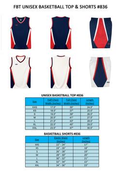 FBT Basketball Jersey Printing